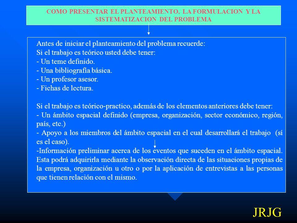 4) CONTROL AL PRONOSTICO: Acciones por las cuales el investigador puede anticiparse y controlar las situaciones identificadas en síntomas 1, causas 2