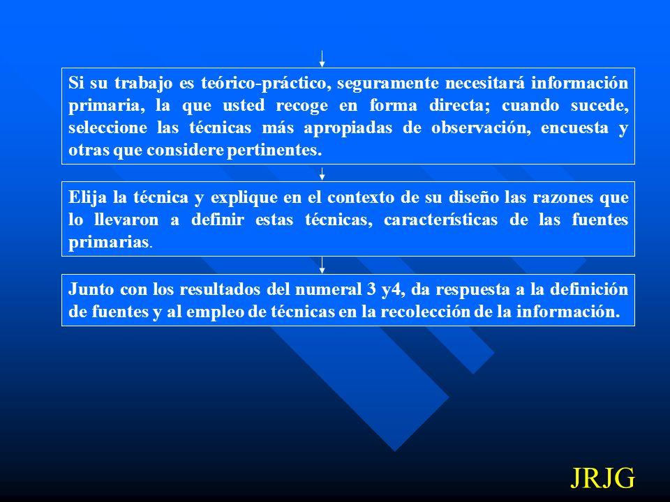 COMO DEFINIR LAS TECNICAS PARA LA RECOLECCION DE INFORMACION La información es la materia prima de su investigación; debe tener mucho cuidado en defin