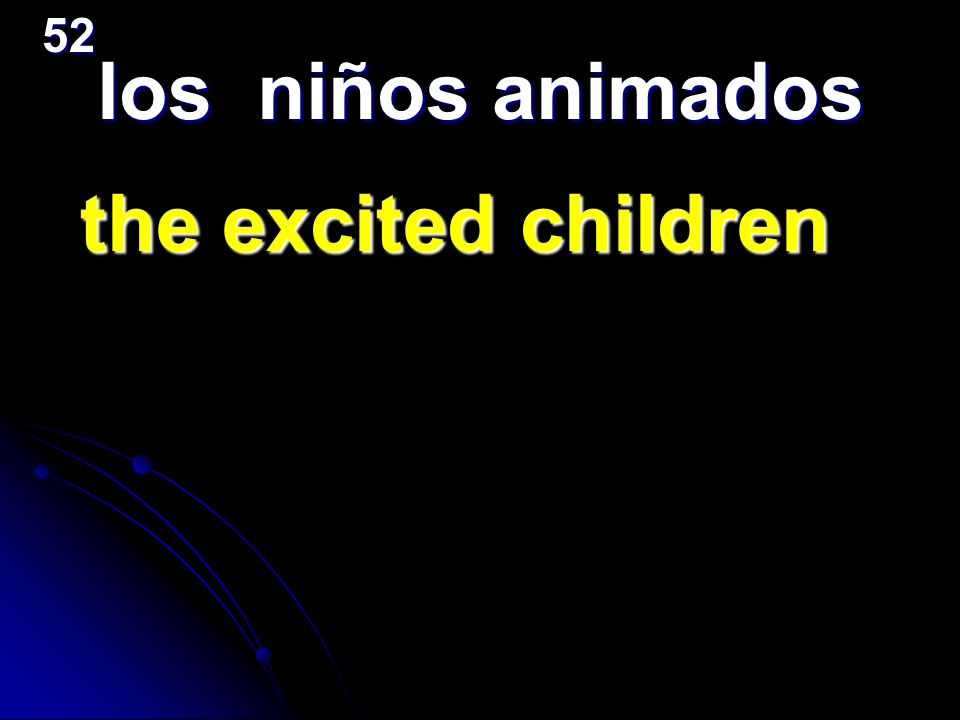 los niños animados the excited children the excited children52
