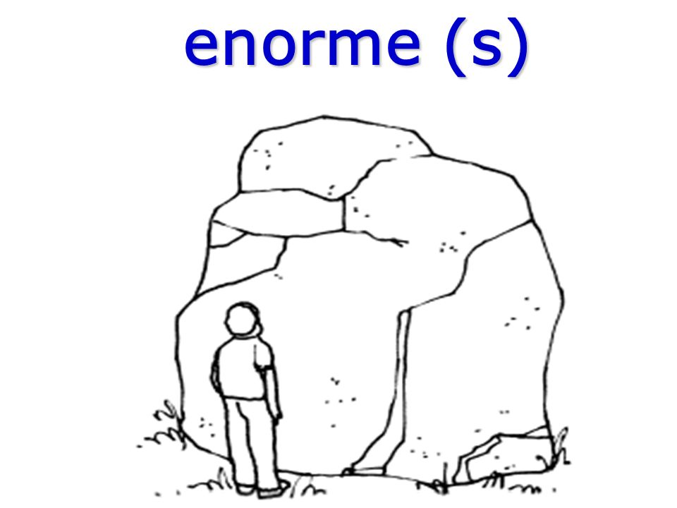 enorme (s)