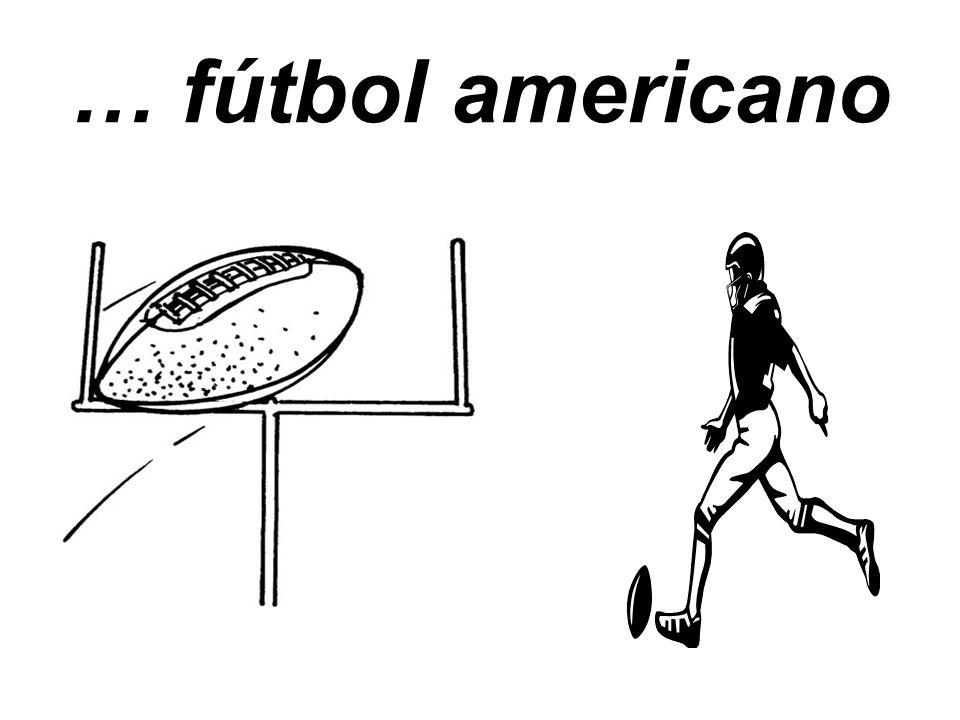 … fútbol americano