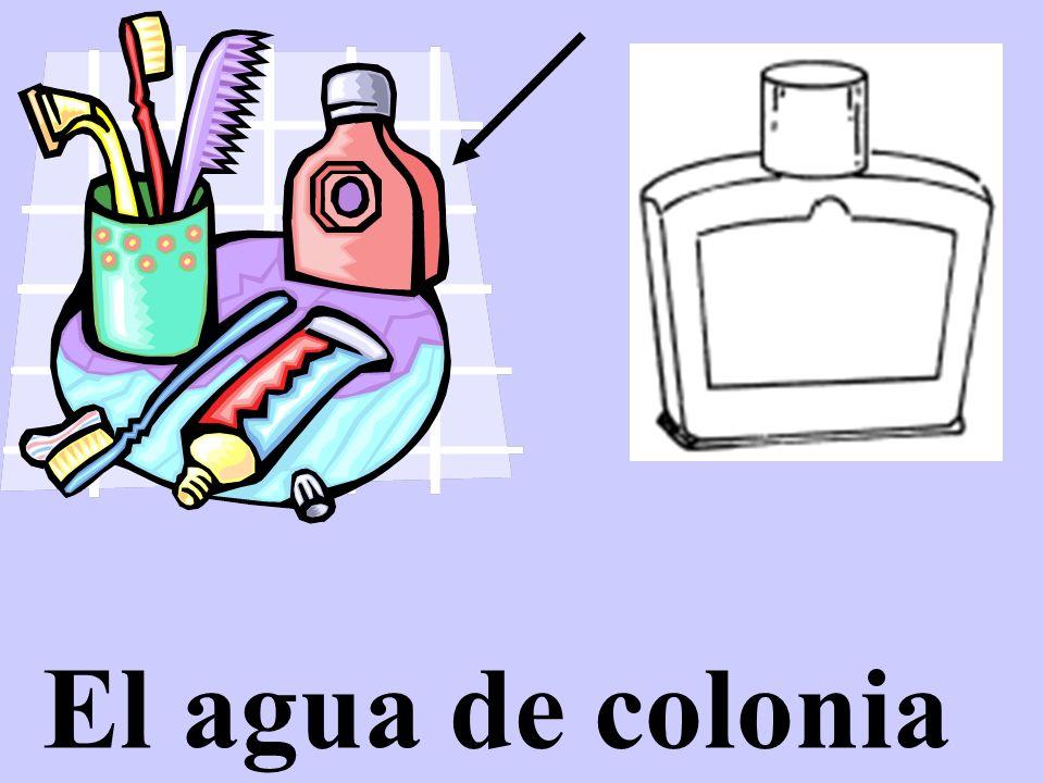 El agua de colonia