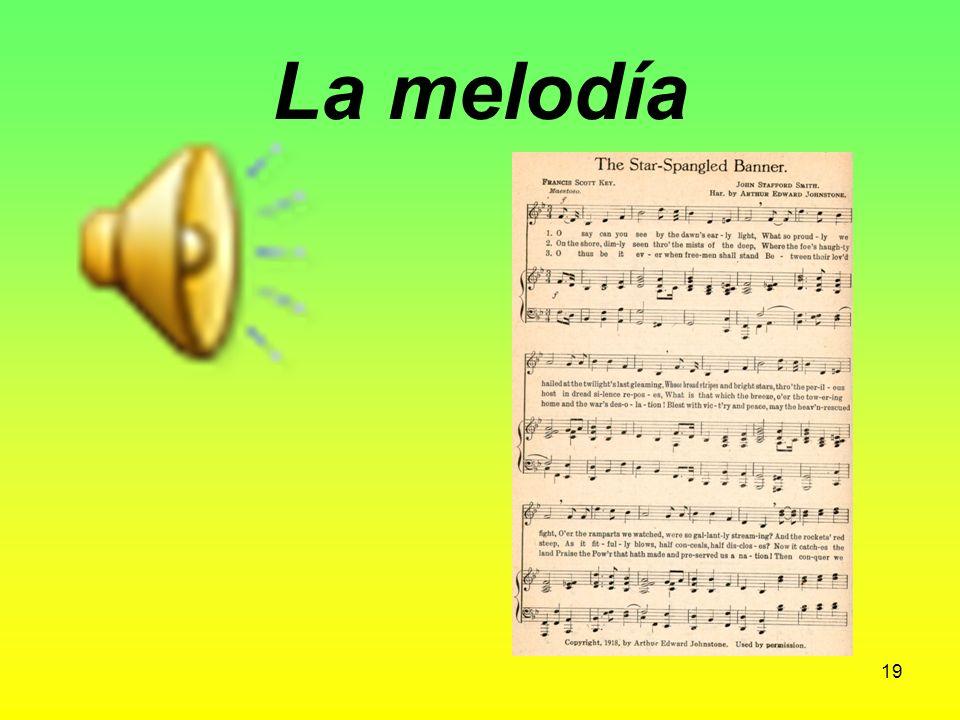 La letra (de una canciόn) Lyrics (to a song) 18