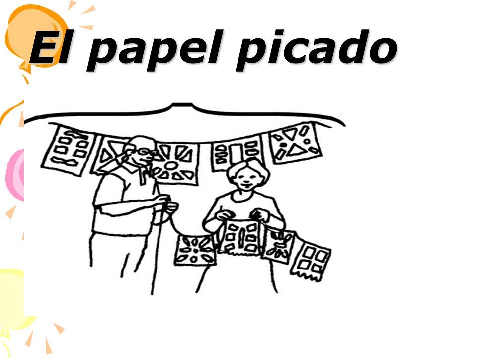El papel picado