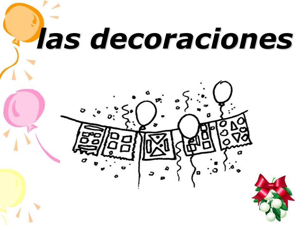 las decoraciones