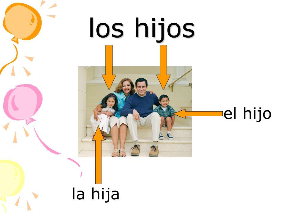 los hijos la hija el hijo