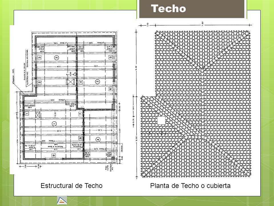 Estructural de TechoPlanta de Techo o cubierta Techo