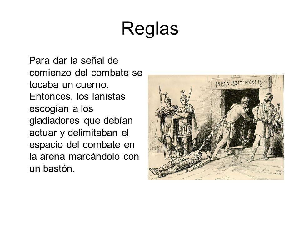 La autoridad indicaba con la posición de su dedo índice el destino del gladiador vencido en el combate.