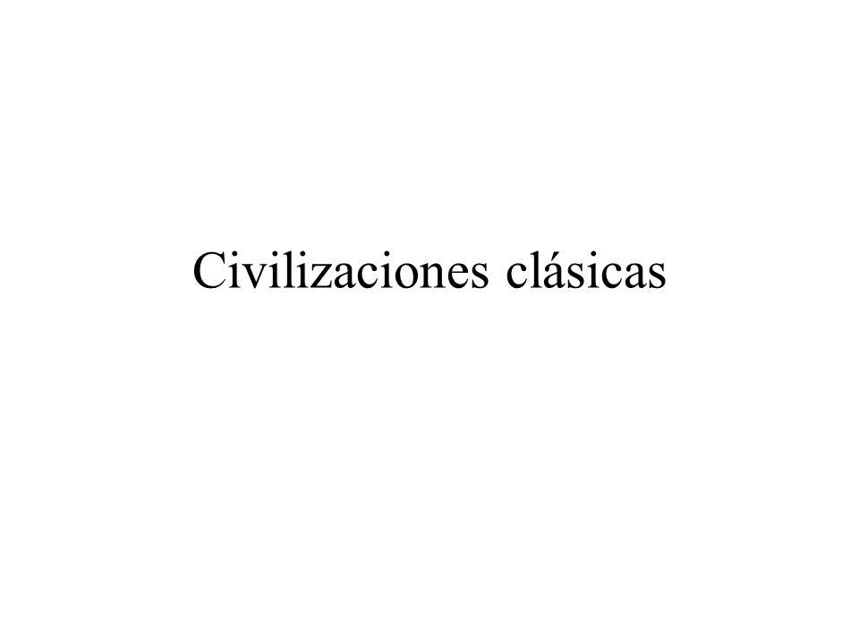 Civilizaciones clásicas