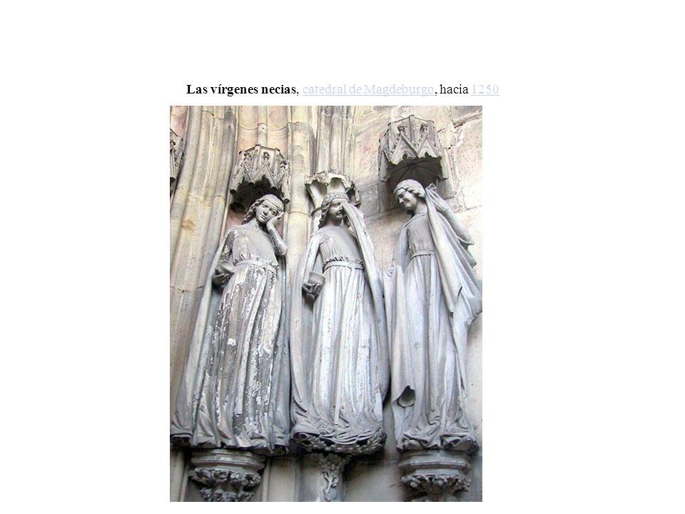 Las vírgenes necias, catedral de Magdeburgo, hacia 1250catedral de Magdeburgo1250