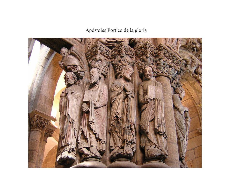 Apóstoles Portico de la gloria