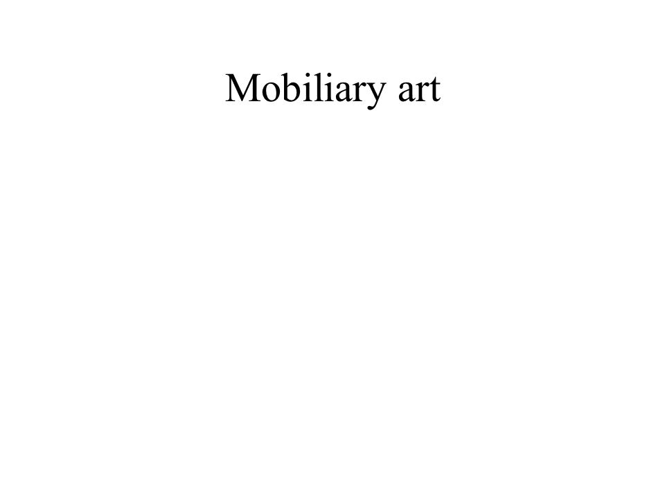 Mobiliary art