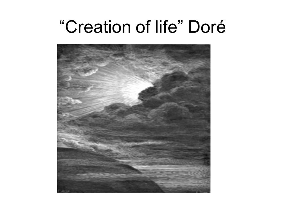 Creation of life Doré