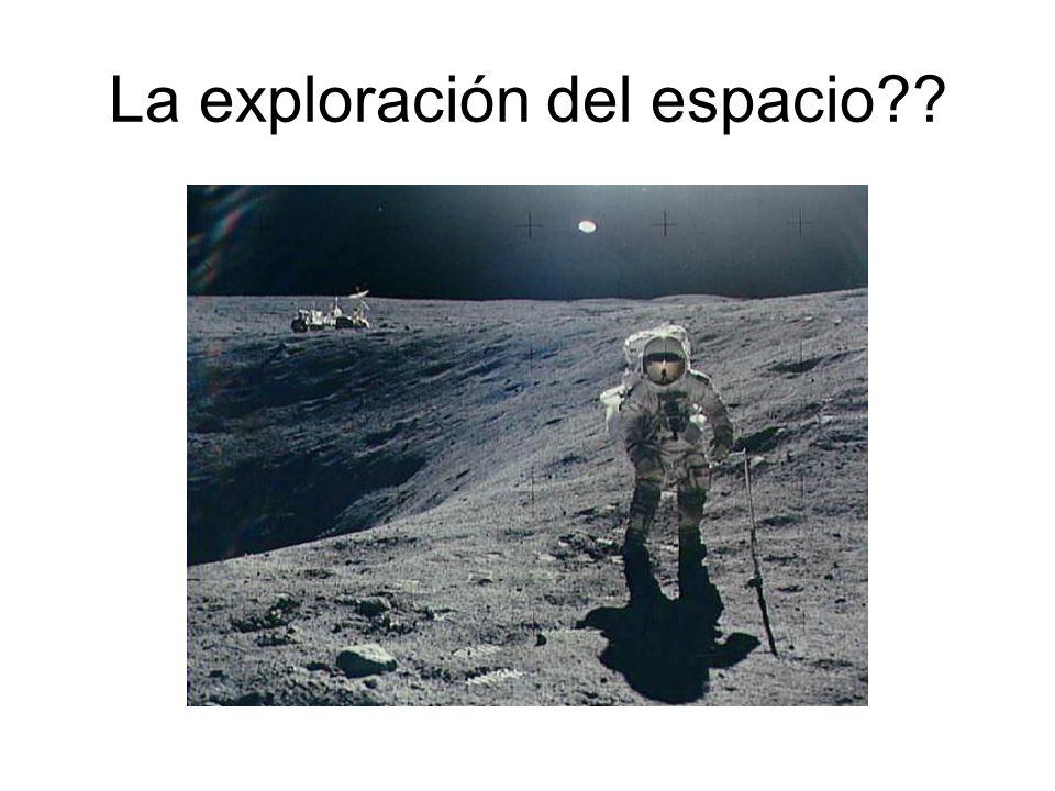 La exploración del espacio??