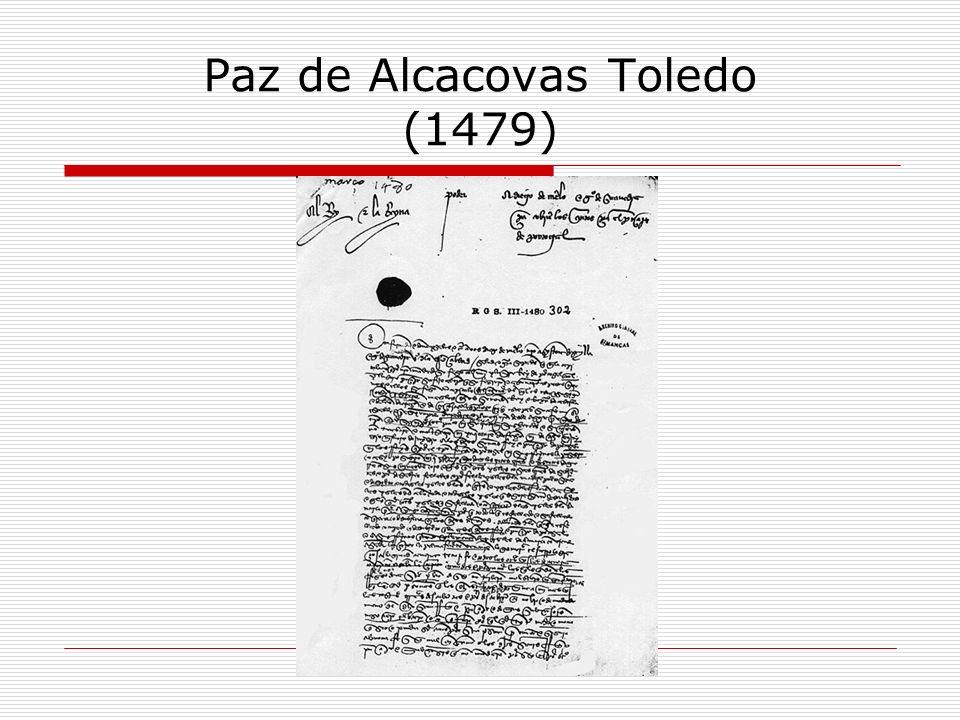 Paz de Alcacovas Toledo (1479)