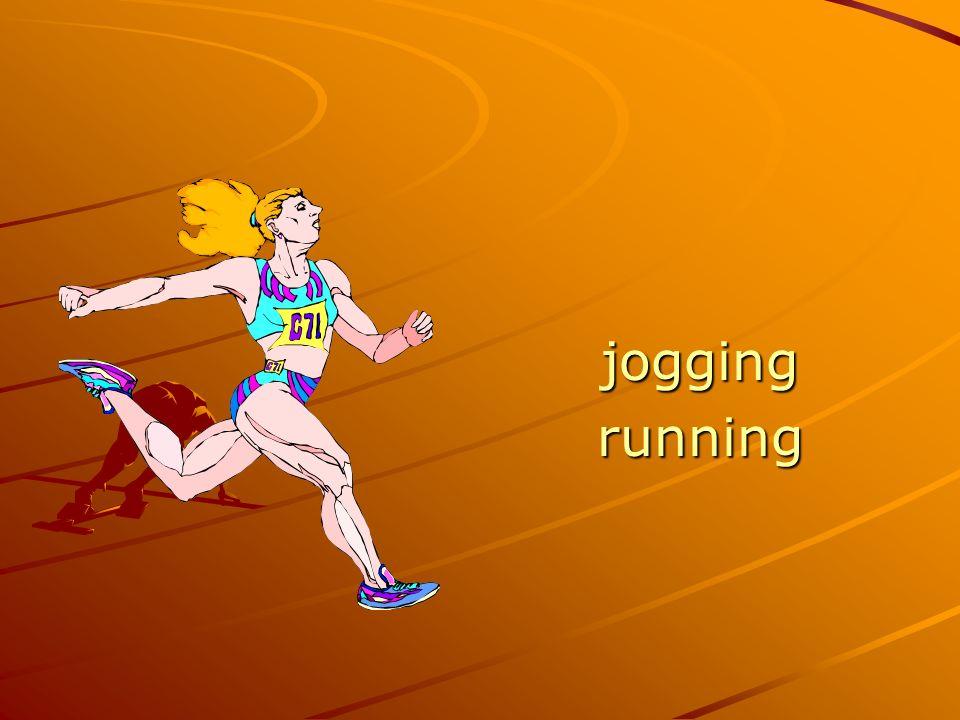 joggingrunning