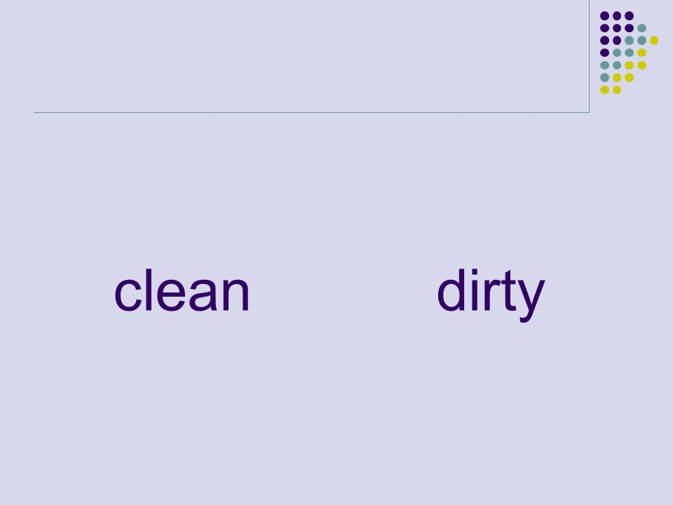 cleandirty