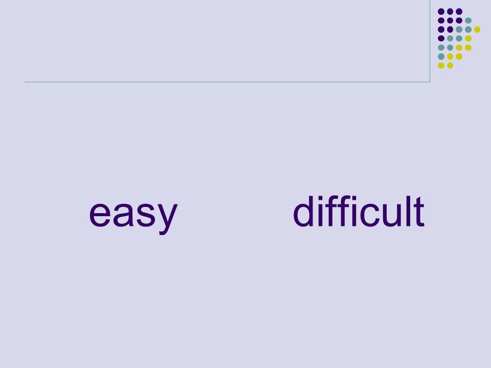 easydifficult