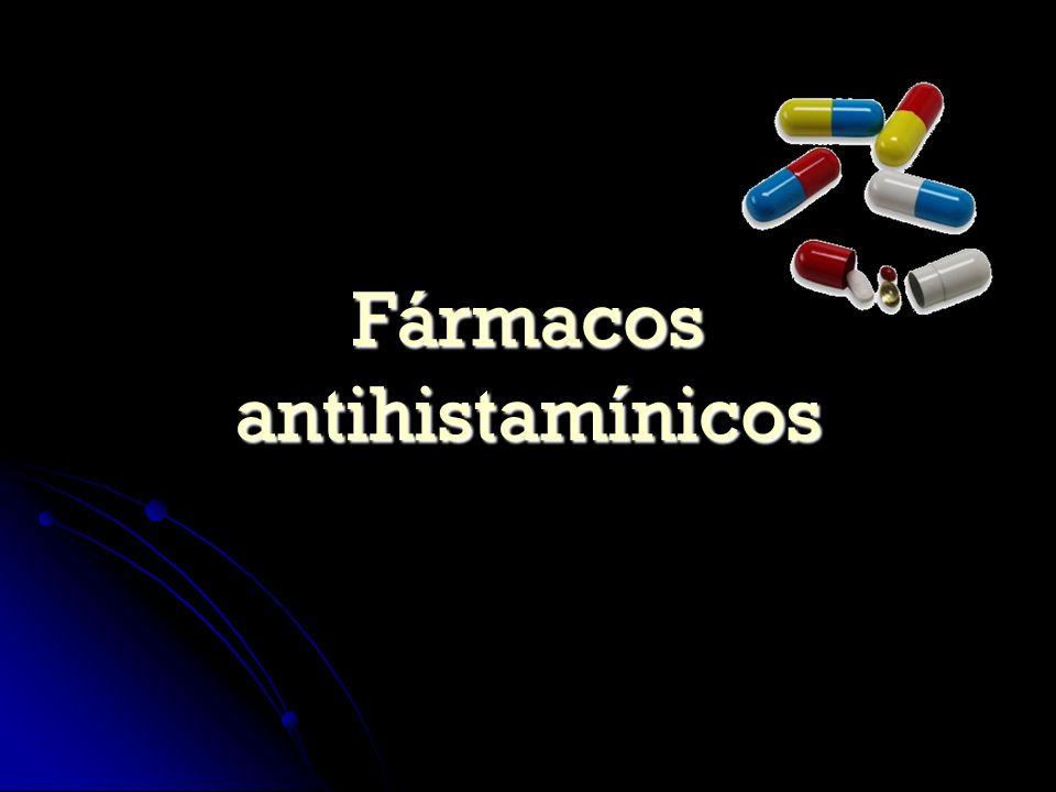 Fármacos antihistamínicos