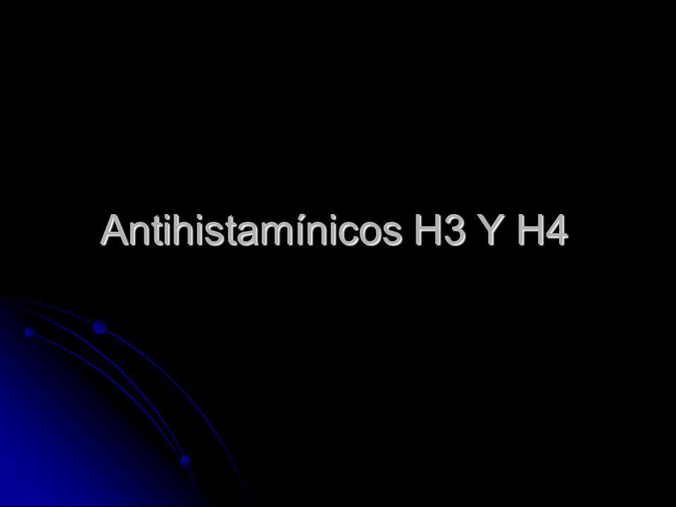 Antihistamínicos H3 Y H4