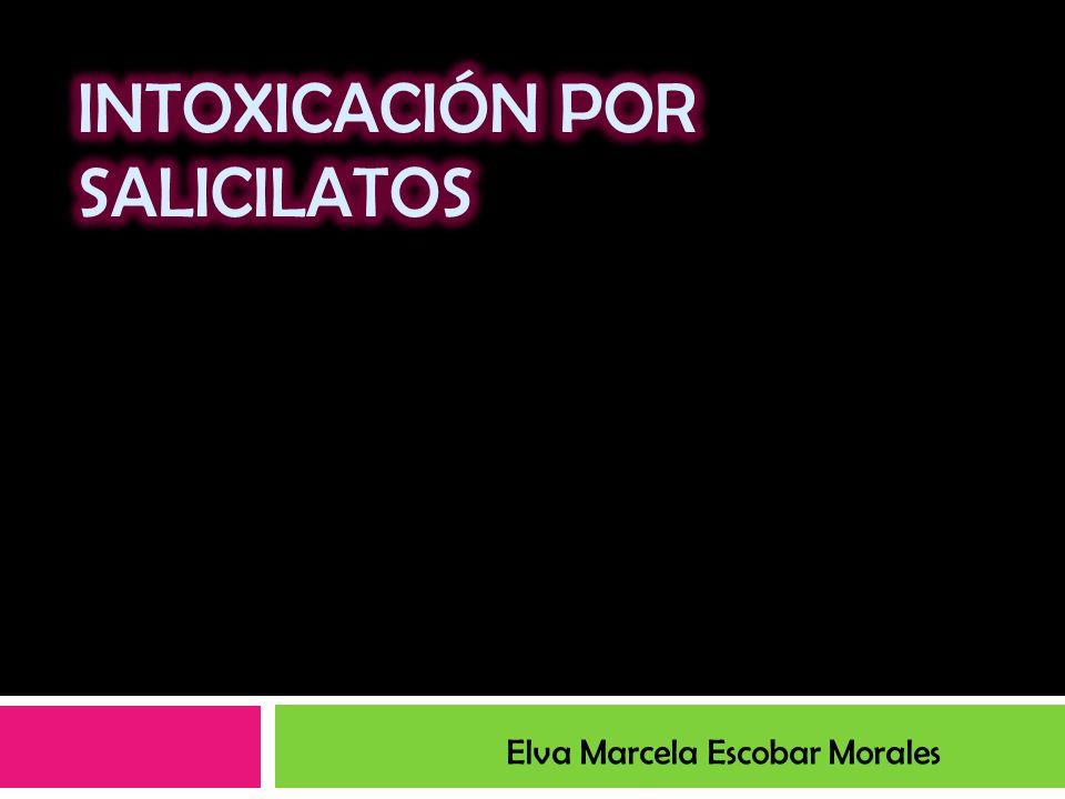 Salicilatos Antiinflamatorio y analgésico- antipirético mas recetado Fácil acceso Toxicidad grave si se utiliza de manera impropia Causa importante de intoxicación en niños AAS (Aspirina)
