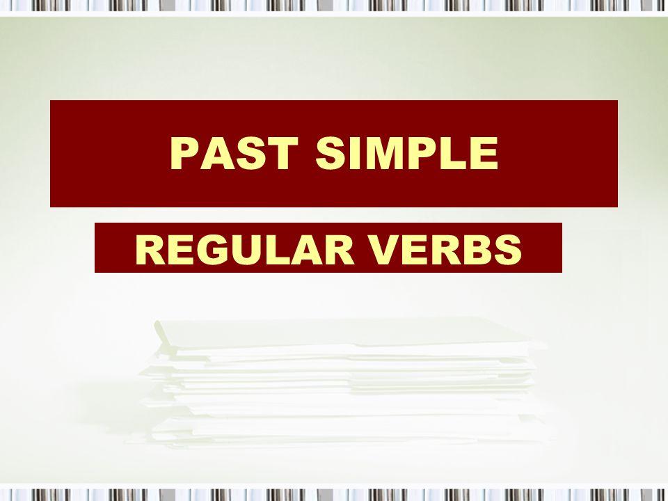 Irregular verbs InfinitivePast simplePast participleTranslation eatateeatencomer