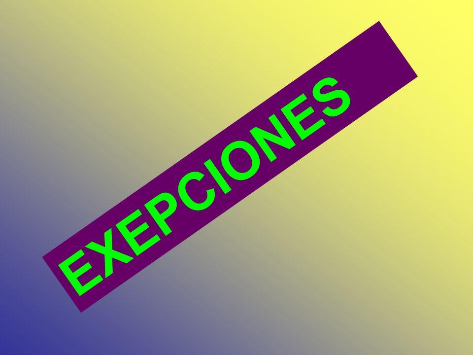 VERBOS TERMINADOS EN CONSONANTE VOCAL CONSONANTE EXCEPTO : X W Y PLAY PLAYING = NO SE DOBLA LA ULTIMA LETRA BORROW BORROWING FIX FIXING