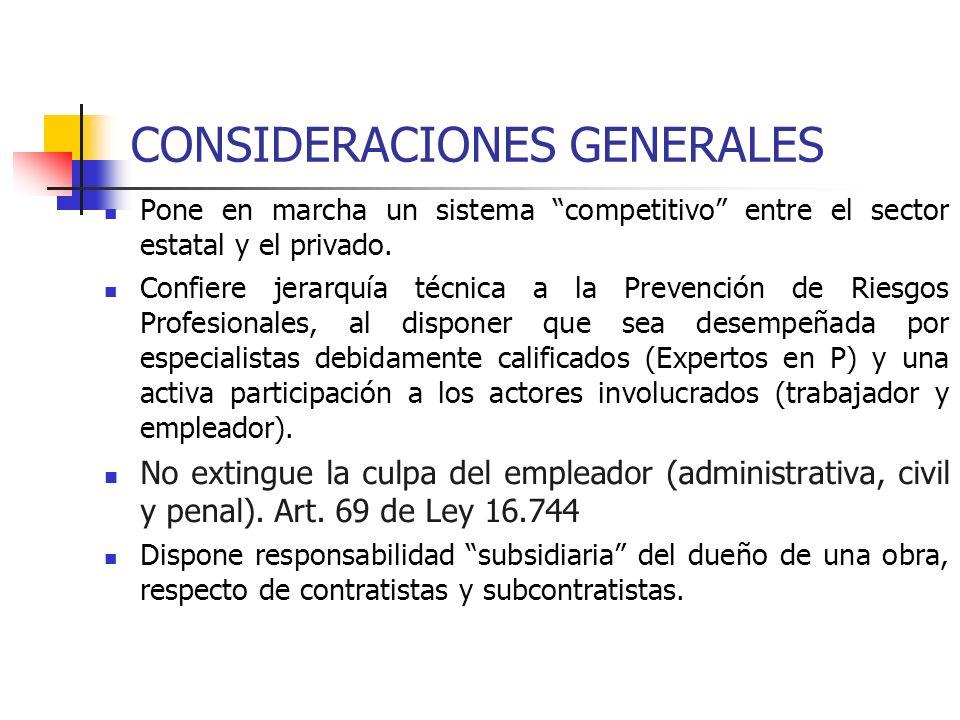 3.OBLIGACIONES DE LAS EMPRESAS Constituir y apoyar CPHS en empresas con más de 25 trabajadores.