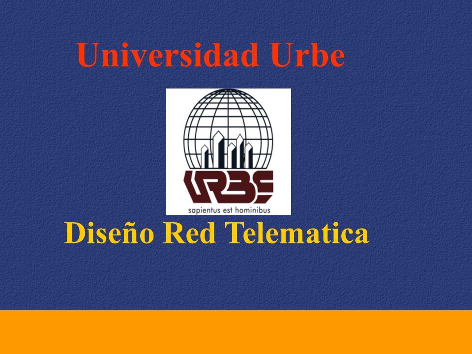 Universidad Urbe Diseño Red Telematica