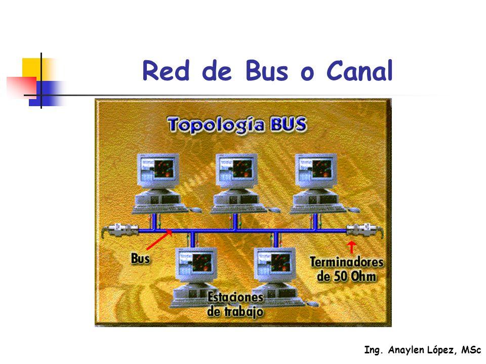 Ing. Anaylen López, MSc Red de Bus o Canal