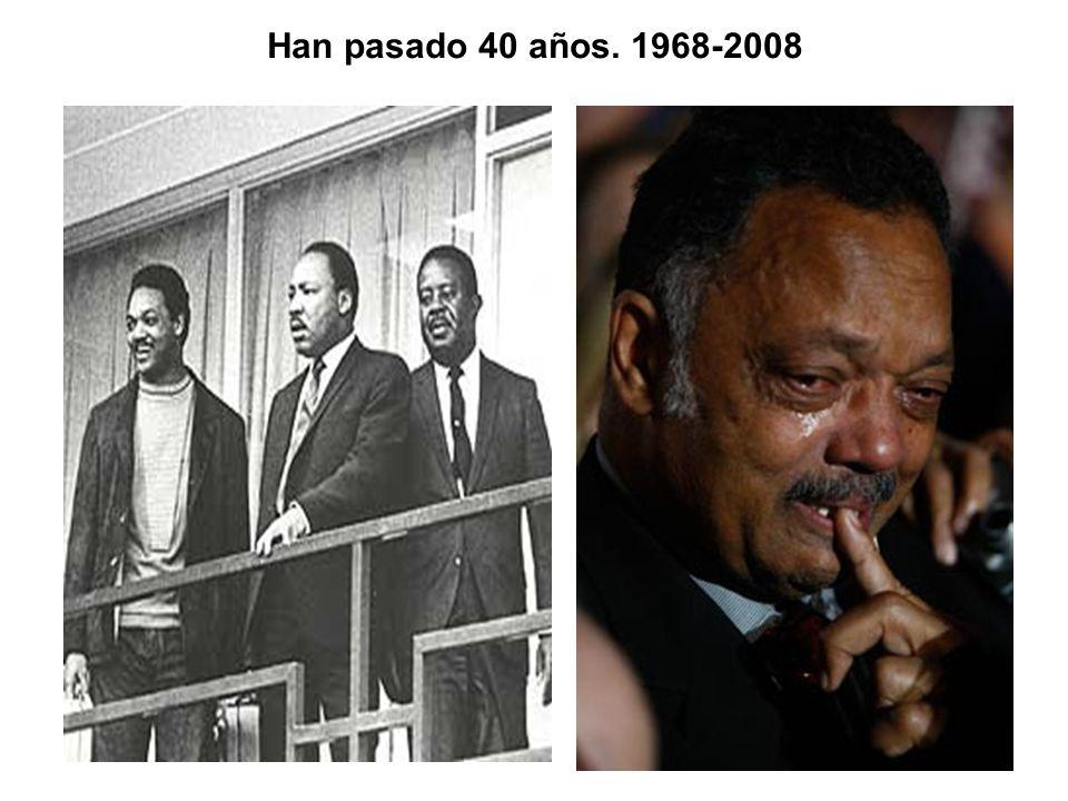 Han pasado 40 años. 1968-2008