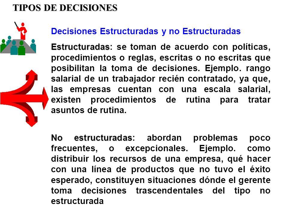 Es necesario indicar que para la toma de decisiones se deben considerar cinco pasos o fases: a.Definición del problema.