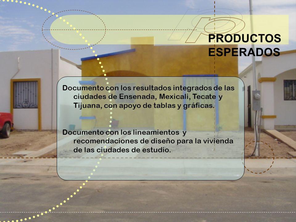 Documento con los resultados integrados de las ciudades de Ensenada, Mexicali, Tecate y Tijuana, con apoyo de tablas y gráficas. Documento con los lin