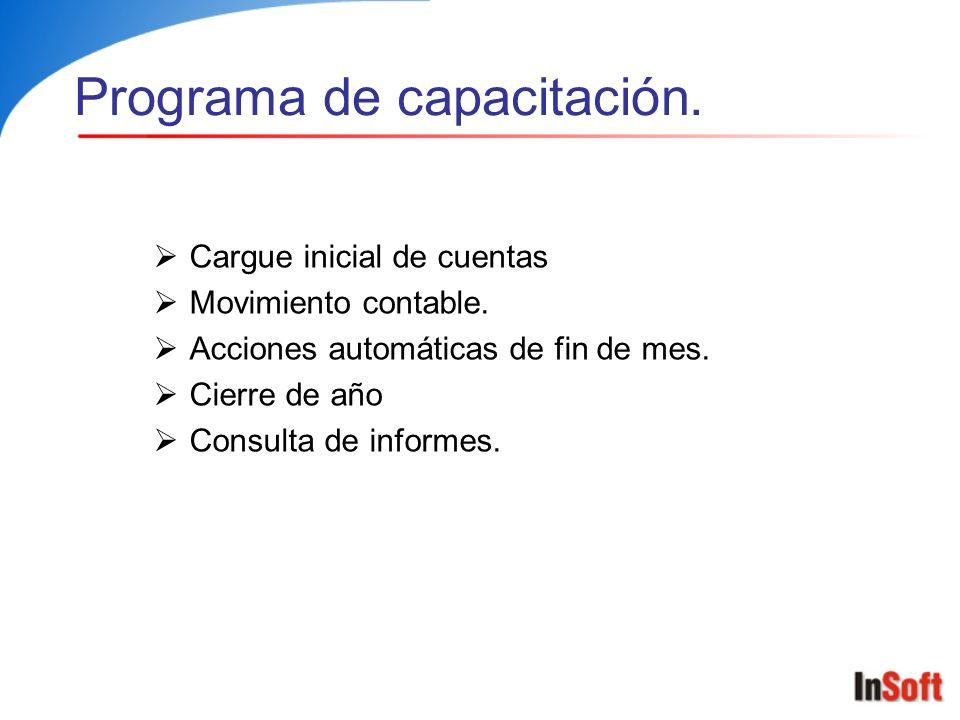 Encabezado de la operación Barra de botones Área de registro Operación de movimiento contable.