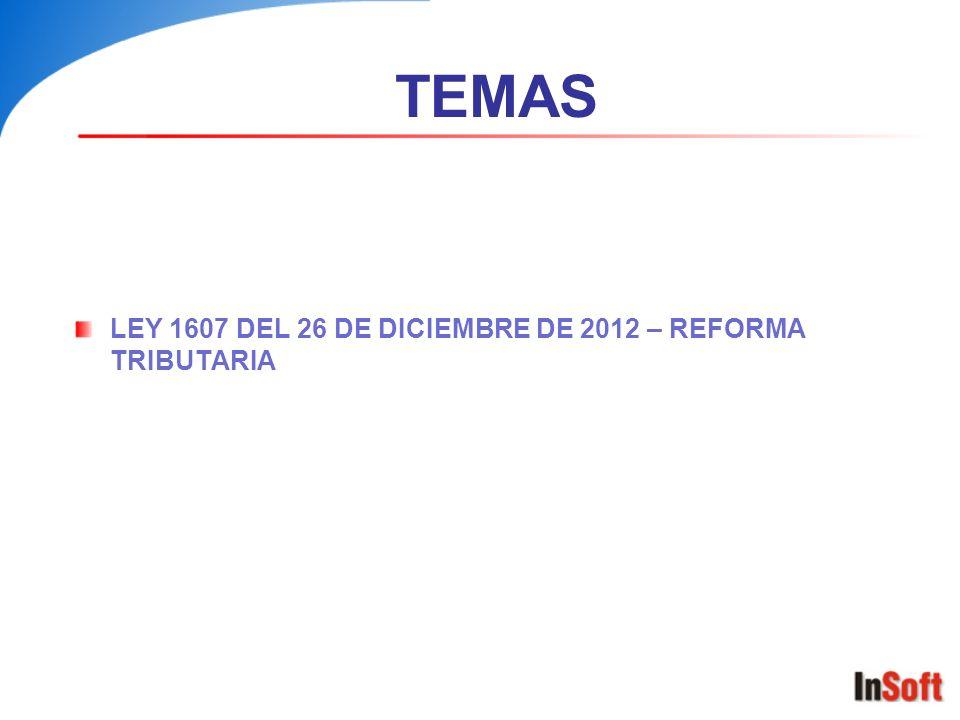 IMPUESTO AL CONSUMO (Art.71 Ley 1607) TARIFA IMP.