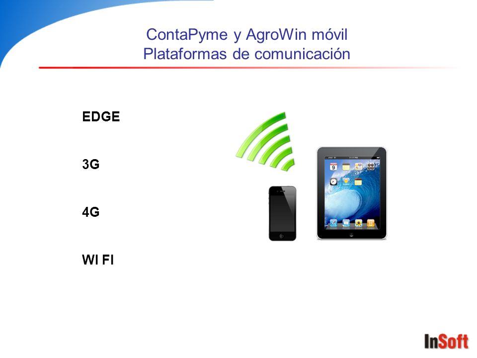 ContaPyme y AgroWin móvil – Algunos dispositivos Samsung Galaxy S3 / S4 IphoneNokia IpadGalaxy tabMicrosoft Surface Blackberry