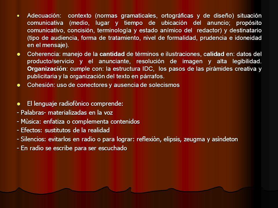 ARENS, L.Publicidad. Bogotá: Mac. Graw Hill, 2000.