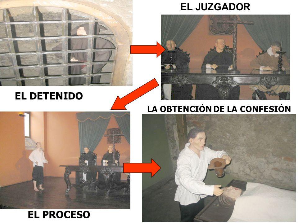EL DETENIDO EL JUZGADOR EL PROCESO LA OBTENCIÓN DE LA CONFESIÓN
