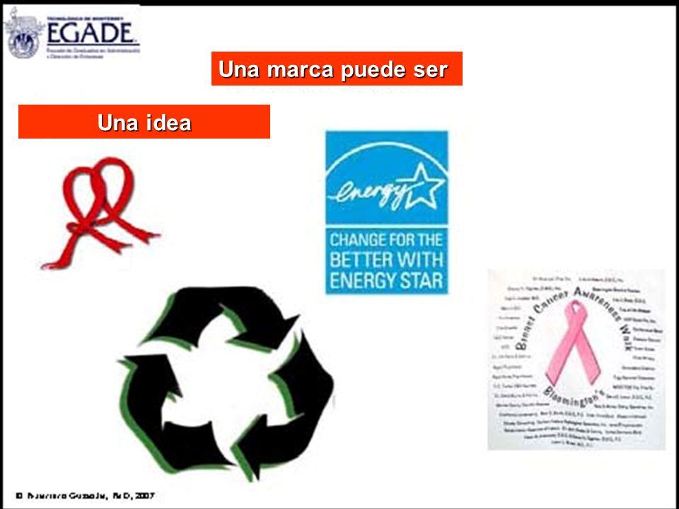 Una marca puede ser Una idea