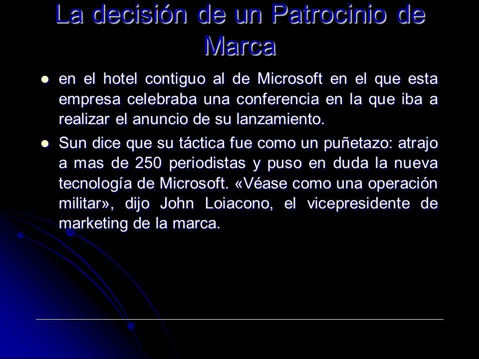 en el hotel contiguo al de Microsoft en el que esta empresa celebraba una conferencia en la que iba a realizar el anuncio de su lanzamiento. en el hot
