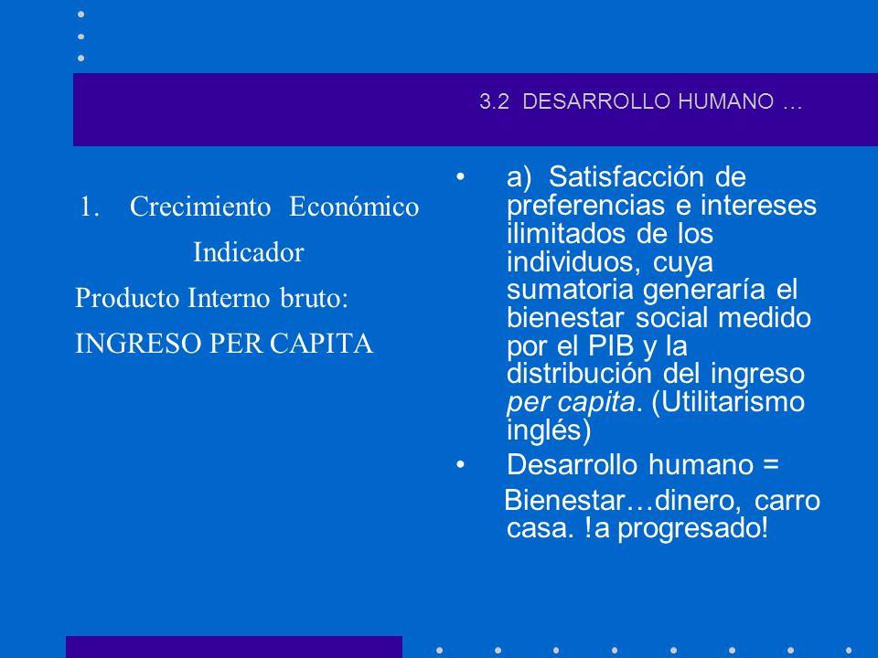 b.Horizonte ético-político desarrollo humano sostenible ¿Qué implica desarrollo humano.