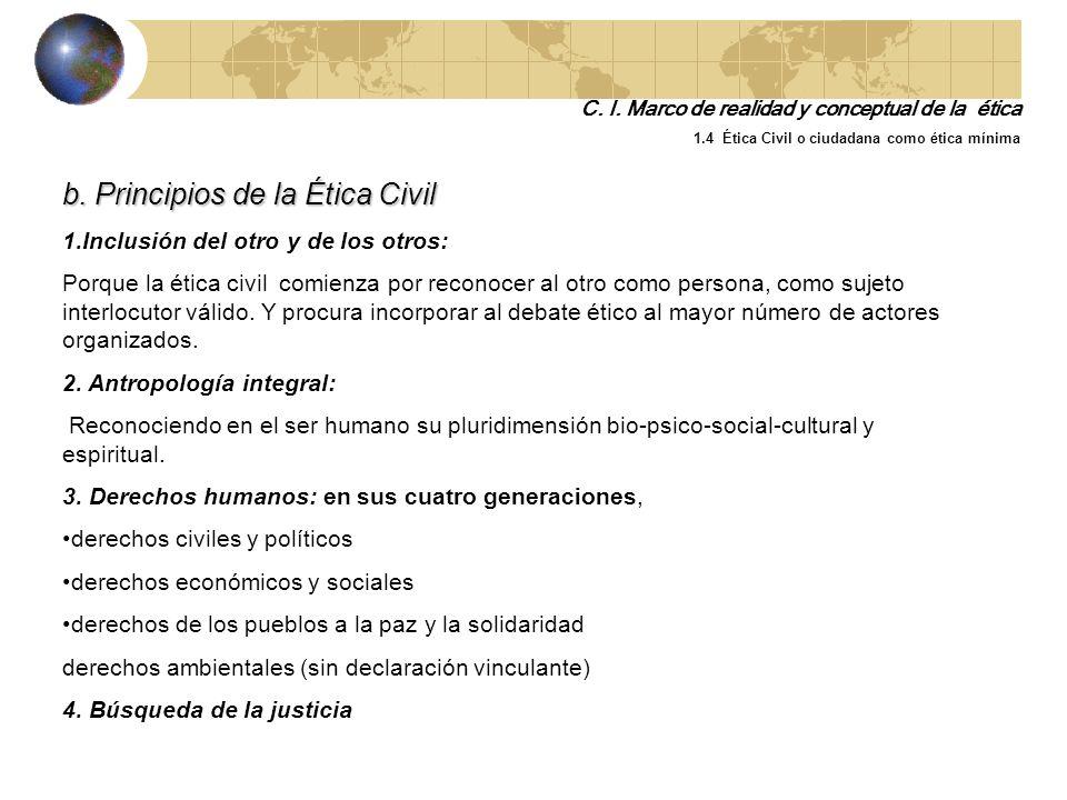 a. Diferencia entre la ética de máximos y la ética de mínimos Ética de Máximos Ética de Mínimos Es una oferta de felicidad Está ligada a la justicia E
