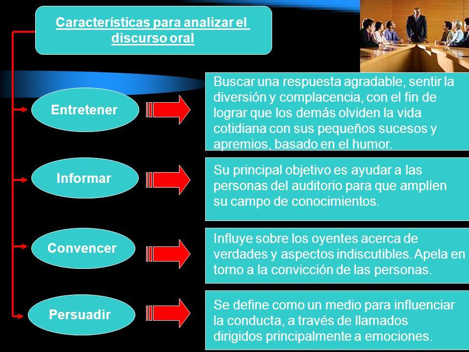 La construcción del guión para el discurso oral: ConcisiónExactitudClaridadOriginalidad