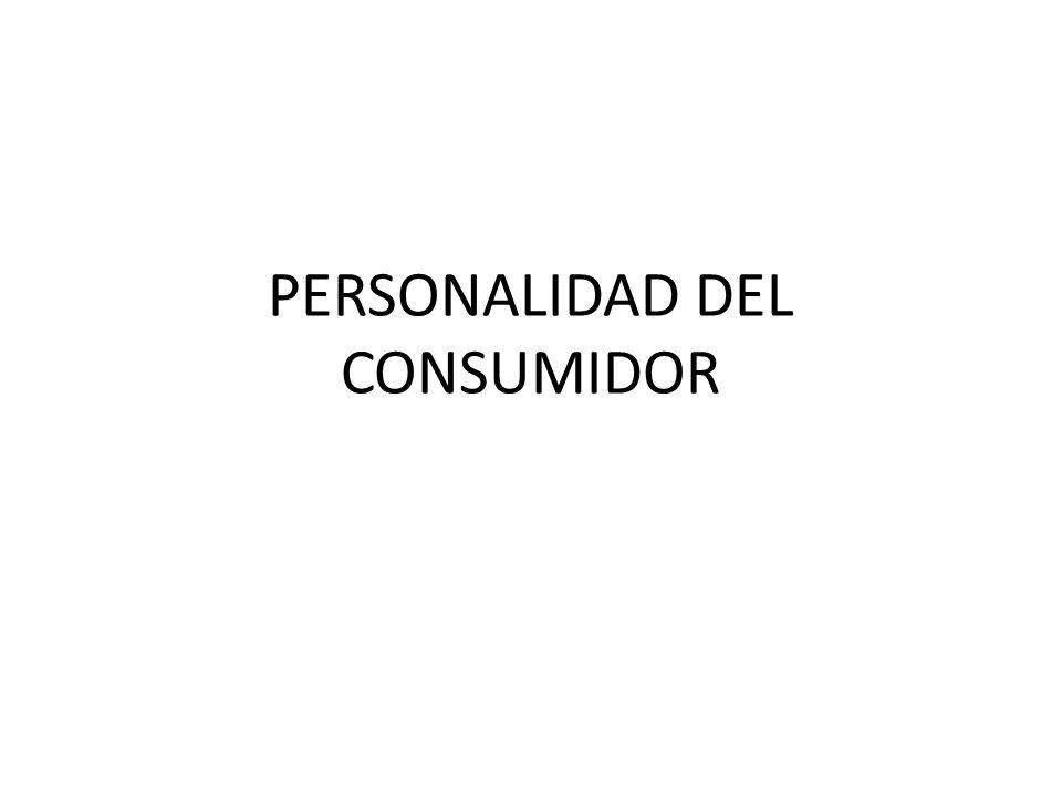PERSONALIDAD DEL CONSUMIDOR