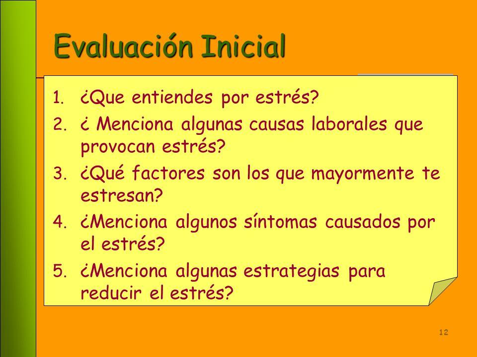 11 Forma de Evaluación Habrá una evaluación diagnóstica y una final Aprobación de examen escrito de preguntas abiertas Entrega de una memoria de eleme