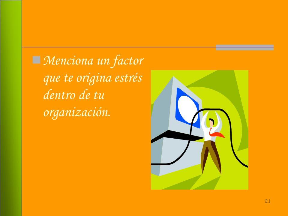 20 La misma necesidad de búsqueda de elementos y herramientas que le den ciencia, experiencia y mas sabiduría a las organizaciones.