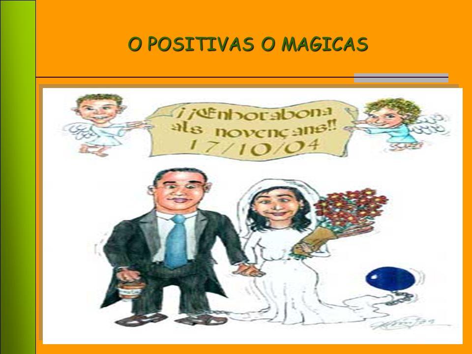 33 Las percepciones tienen como resultado una opinión negativa EFECTOS NEGATIVOS O DE MISERIA