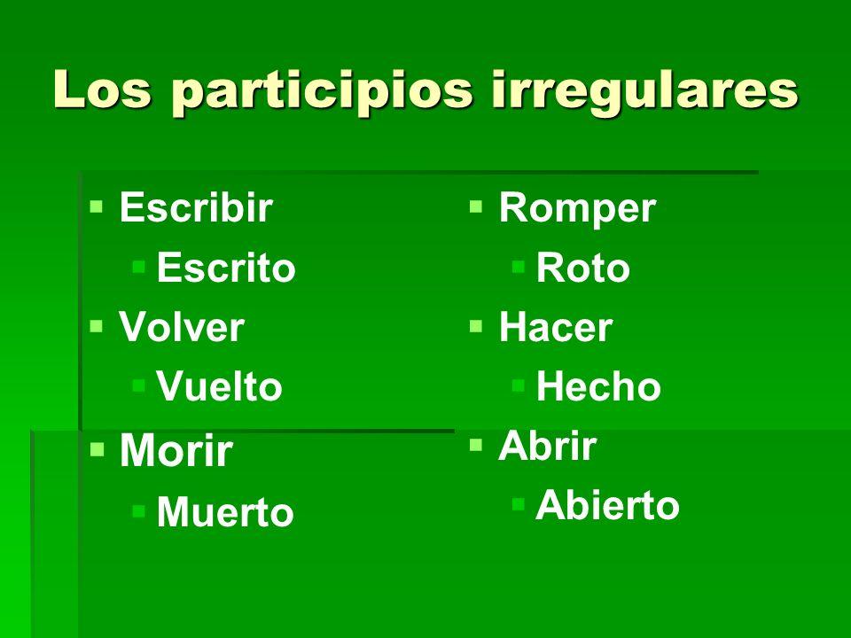 Práctica – Escribe en español 1.1.The cake will have arrived before the party.
