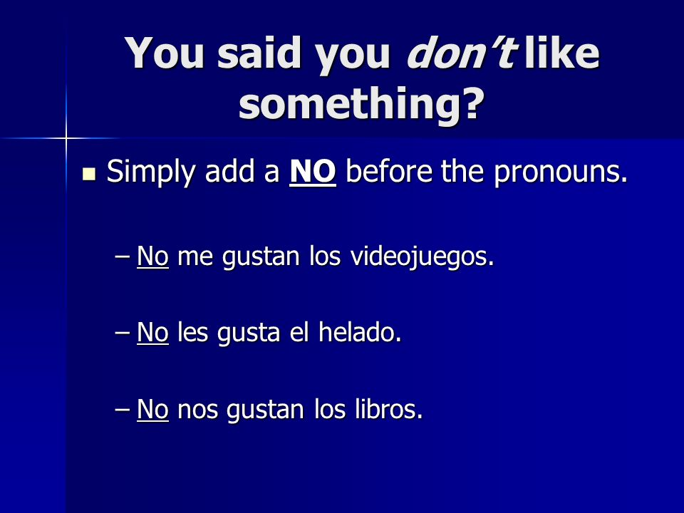 Más práctica Speaking practice – what possible questions or statements could you make about this picture?
