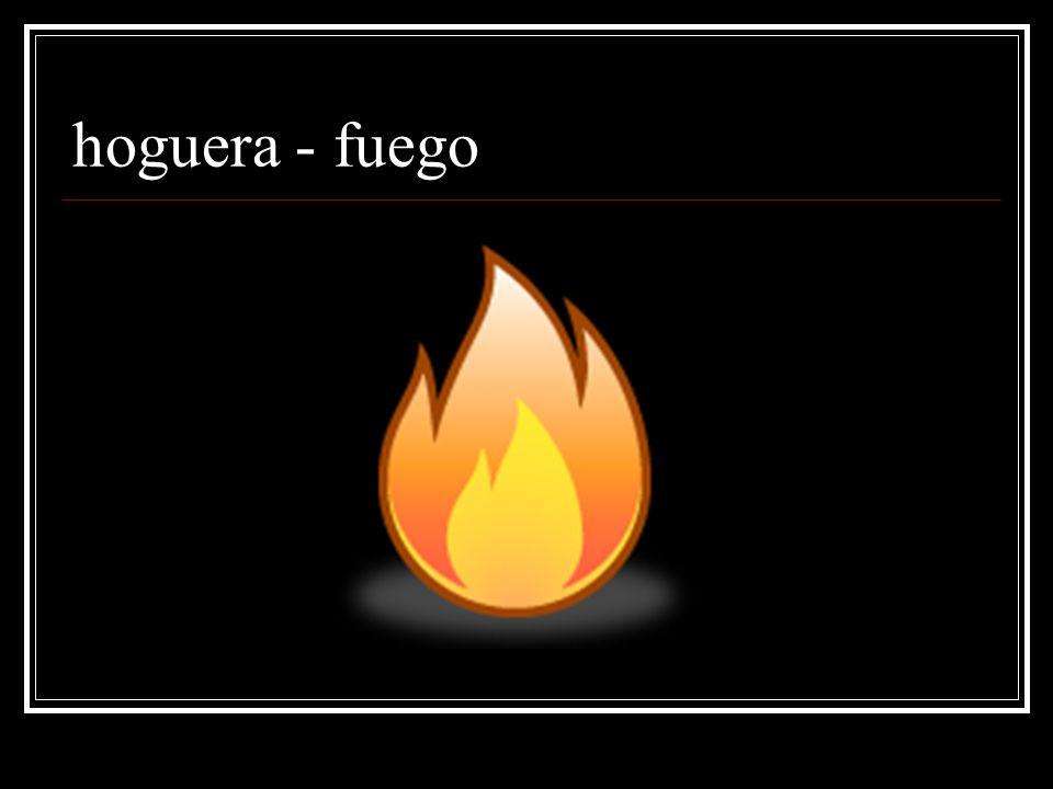 hoguera - fuego